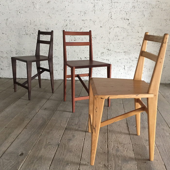 Belgian Chair Series designed & created by Eric Phillips