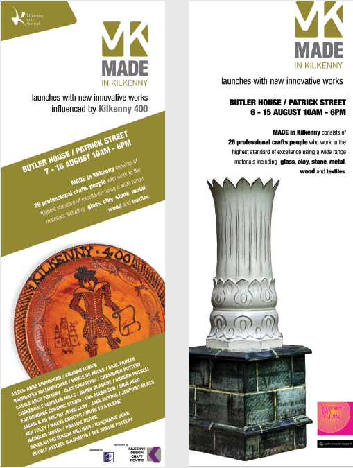 Made in Kilkenny Arts Festival Posters 2009 & 2010