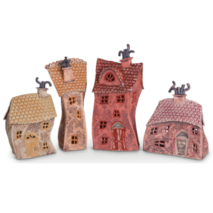 Ceramic House designed & created by Jars of Clay