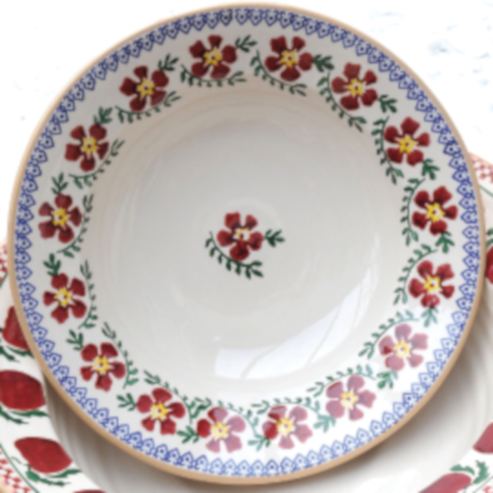 Everyday Plate Old Rose designed & created by Nicholas Mosse